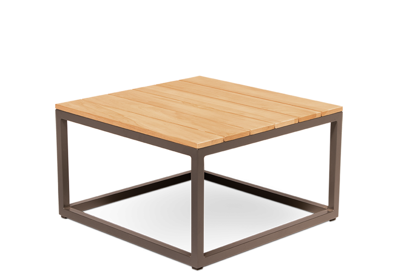 Rio Square Coffee Table Teak Top M